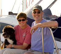 fully crewed sailing charters jette and jon baker, bellingham